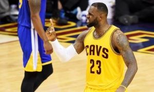 (10th June 2015) THE NBA FINALS GAME THREE: The Cavliers did not play sexy, cute basketball in game three of the NBA Finals, but they did enough to win 96-91, and are now two victories away from their first championship in the 45-year history of the franchise.