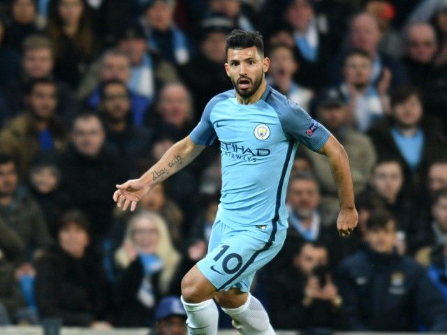 "Sergio Aguero ""very happy"" with life at Manchester City"