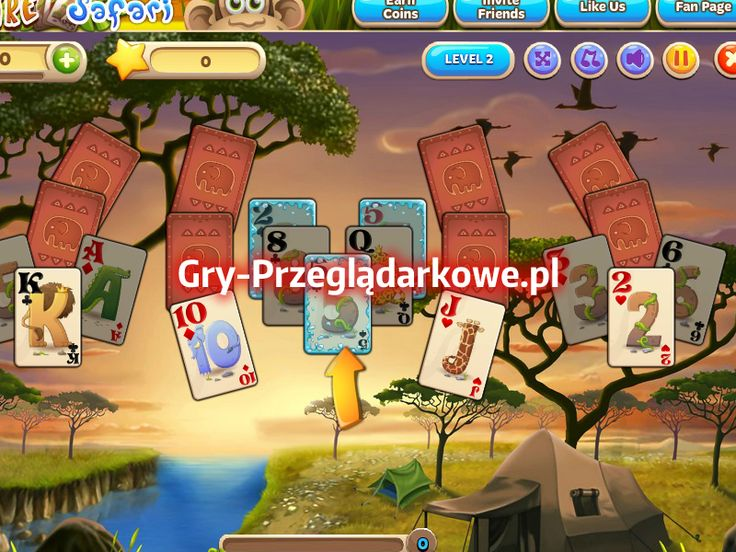 Gra w pasjansa na FB - super logiczna gra przeglądarkowa dla bystrzaków ;)