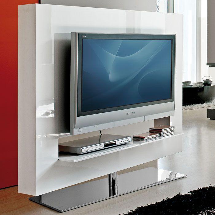TV stand living room. Bonaldo - Panorama 140 Swivel TV Stand | Panik Design