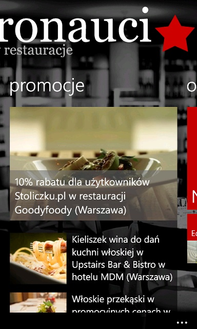 Gastronauci.pl - new app for Windows Phone: http://www.windowsphone.com/pl-PL/apps/8f52c1f2-3652-4b34-8f21-485158ccd8d4