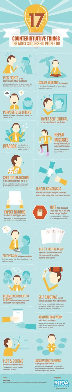 Tips On How To Be a Successful Person [Infographic]