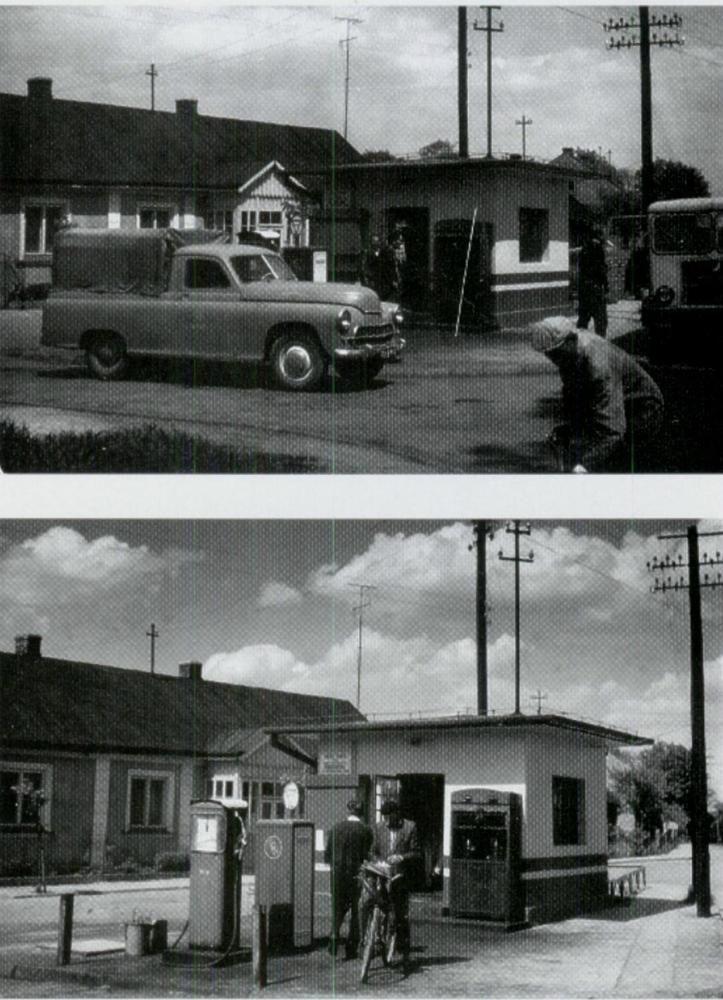 W tym czasie były dwie stacje benzynowe w Mielcu,przy wlocie Sękowskiego do Sienkiewicza,lata 60-jak jest straż pożarna- i druga na Żeromskiego jak jest wyjazd z placu hali targowej | Flickr - Photo Sharing!