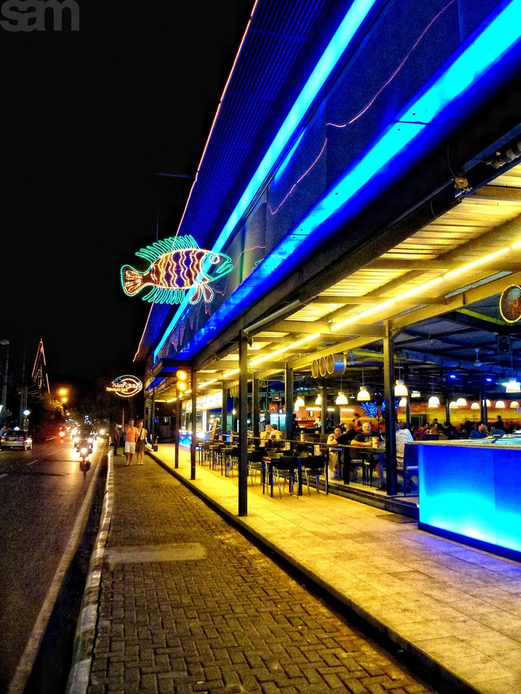 Seafood Restaurant, Kuta, Bali