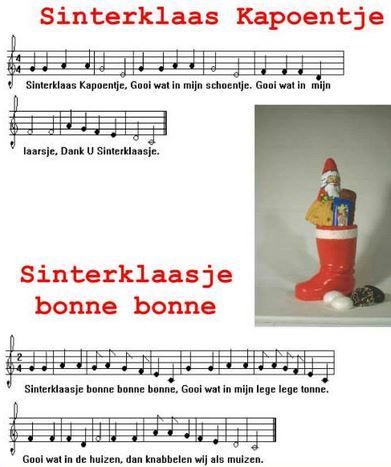 Sinterklaas Kapoentje Sinterklaasje bonne bonne