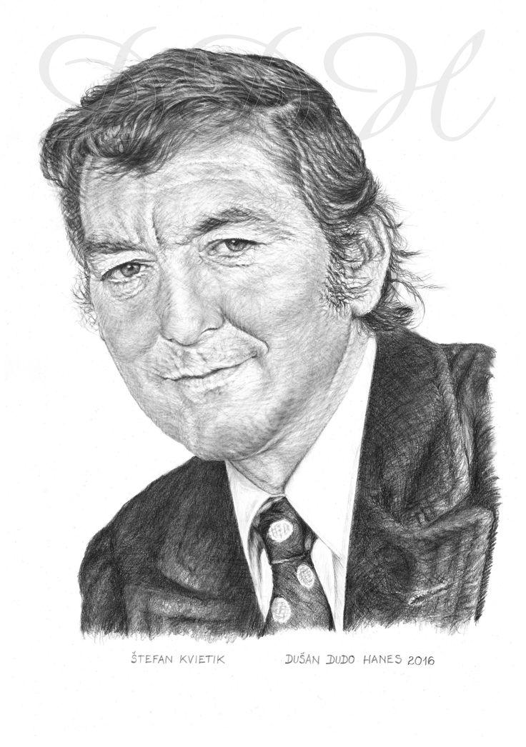 Štefan Kvietik, portrét Dušan Dudo Hanes