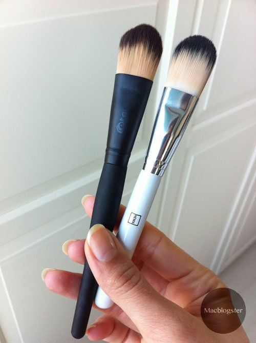 These drugstore make-up brushes are affordable and cheap. Is this a reason to buy them? #makeup #beautyblogger #review #makeupbrushes #drugstore