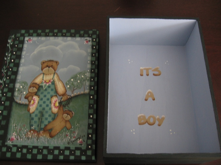 its a boy box
