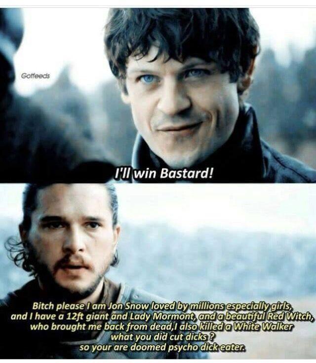 😂😂 Jon's internally monologue