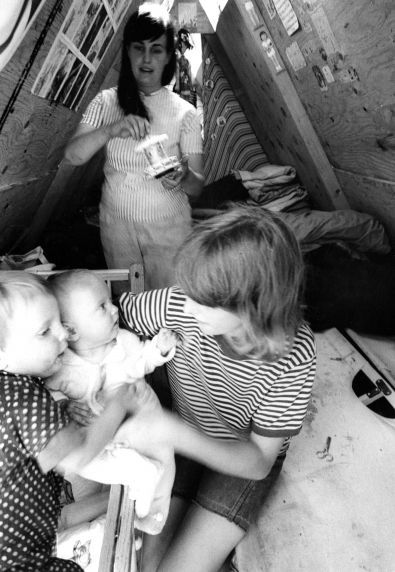 (25393) Resurrection City, Poor People's Campaign, Washington DC, 1968