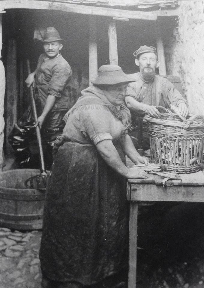 CLEANING THE CATCH | Newlyn, Cornwall     ✫ღ⊰n