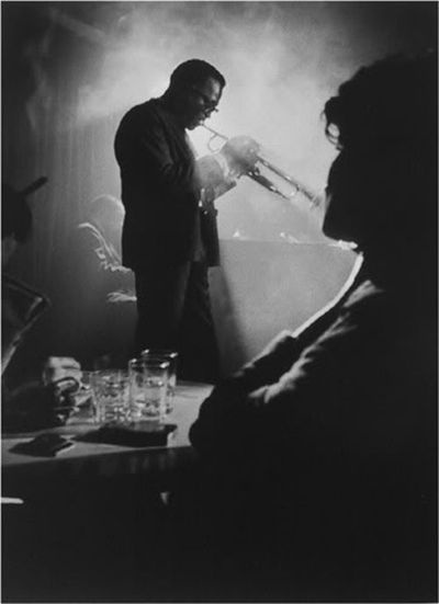 A smokey jazz bar somewhere, does it really get any better than this?