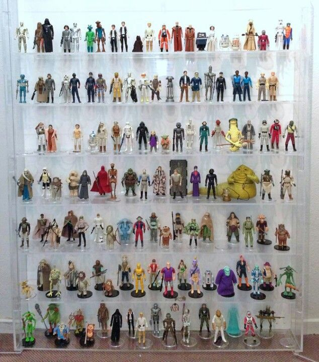 Amazing Star Wars figurines collection