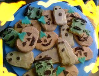 lericettediziasara: biscottini halloween ( halloween cookies)