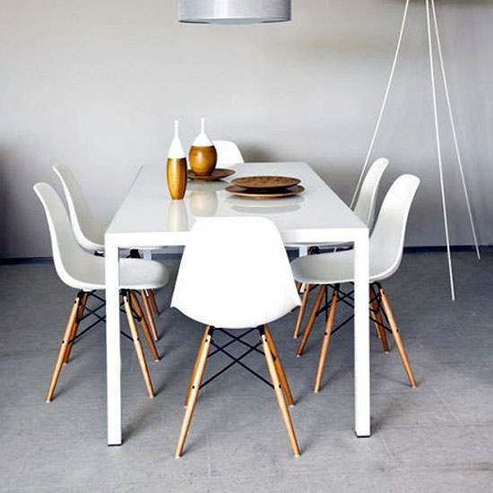 M s de 25 ideas incre bles sobre sillas eames en pinterest for Sillas comedor originales