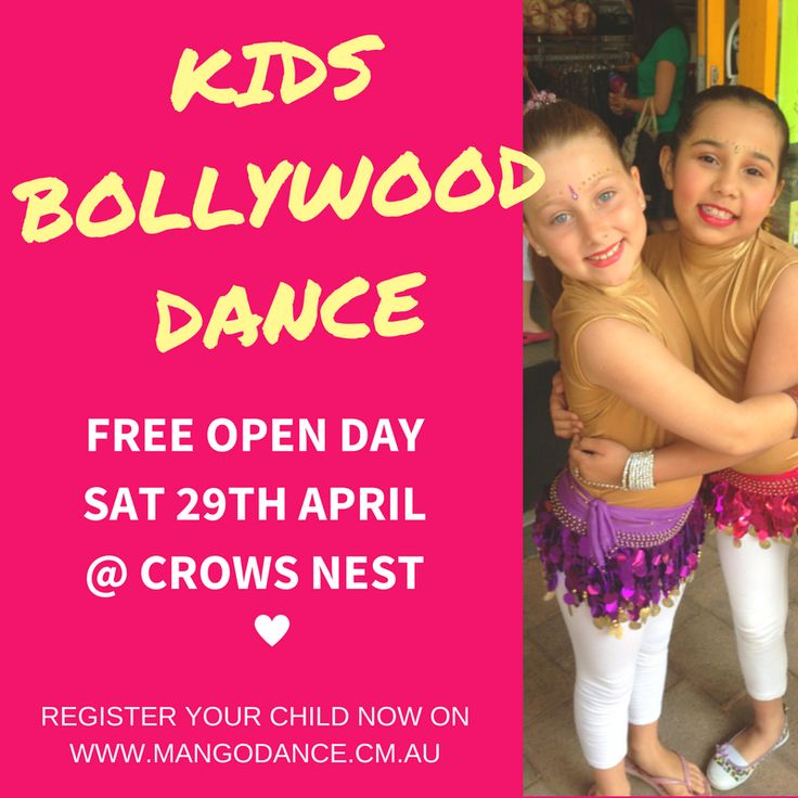 Come and try our BOLLYWOOD KIDS DANCE CLASSES..... FREE OPEN DAY - Sat 29th April Enrol your child now on : https://www.eventbrite.com.au/o/mango-kids-bollywood-6388131075  #bollywood #kids #dance #indian #sydney #classical #crowsnest #stleonards #northsydney #lanecove #chatswood