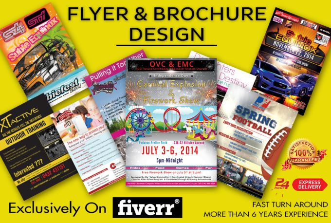 design Flyers and Brochures by ndcreations