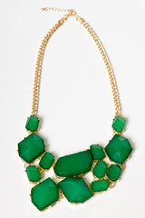 All Hail The Green NecklaceGreen Statement, Emerald Green, Statement Necklaces, Emeralds Green, Green Necklaces, Kelly Green, Accessories, Statement Jewelry, Chunky Necklaces
