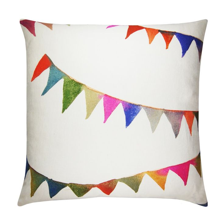 Image of Bunting large cushion cover
