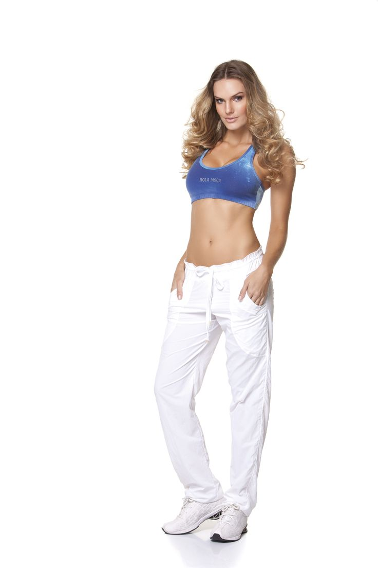 This #pant looks very nice and comfortable for athletic wear. It is available both black and white color. Adjustable for any figure. Now available at http://riofitness.com.au