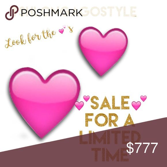 💕's SALE HAPPENING NOW! Look for the 💕 items! 💕💕For a limited time. 💕💕 Tags: Women's, Men's, Children's, Accessories, Dresses, Pants, Shorts, Tops, Boy's, Girl's, Red, Short, Mini, Black, Shoes, Tops, Pullover, Vans, Silk, Scarf, Floral, Vintage, Disney, Macy's, Lilly Pulitzer, Carter's, MOSCHINO, Guess, Toddler, Sean Jean, Button Down, Jacket, Hurley, Sweater, Shirt, Jogger, Athletic, Formal, Casual, Business Attire, Suit, Suede, Leather, Wool, T Shirt, Short Sleeve, Long Sleeve…