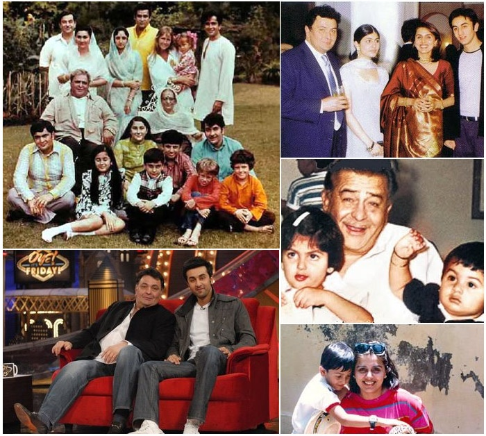 Ranbir has had a filmy upbringing and quite literally.     He is the grandson of actor and filmmaker Raj Kapoor, grandnephew of actors and filmmakers, Shashi Kapoor and Shammi Kapoor, nephew of actor Randhir Kapoor and great grandson of Prithviraj Kapoor.