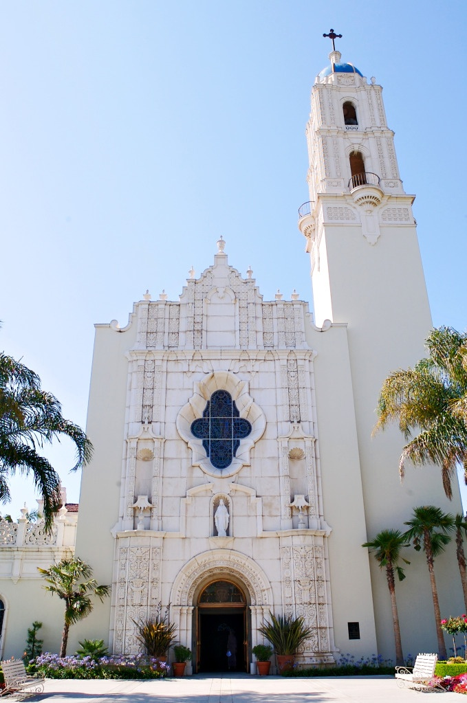 Immaculata at University of San Diego- praying I get accepted to grad school on this beautiful campus!