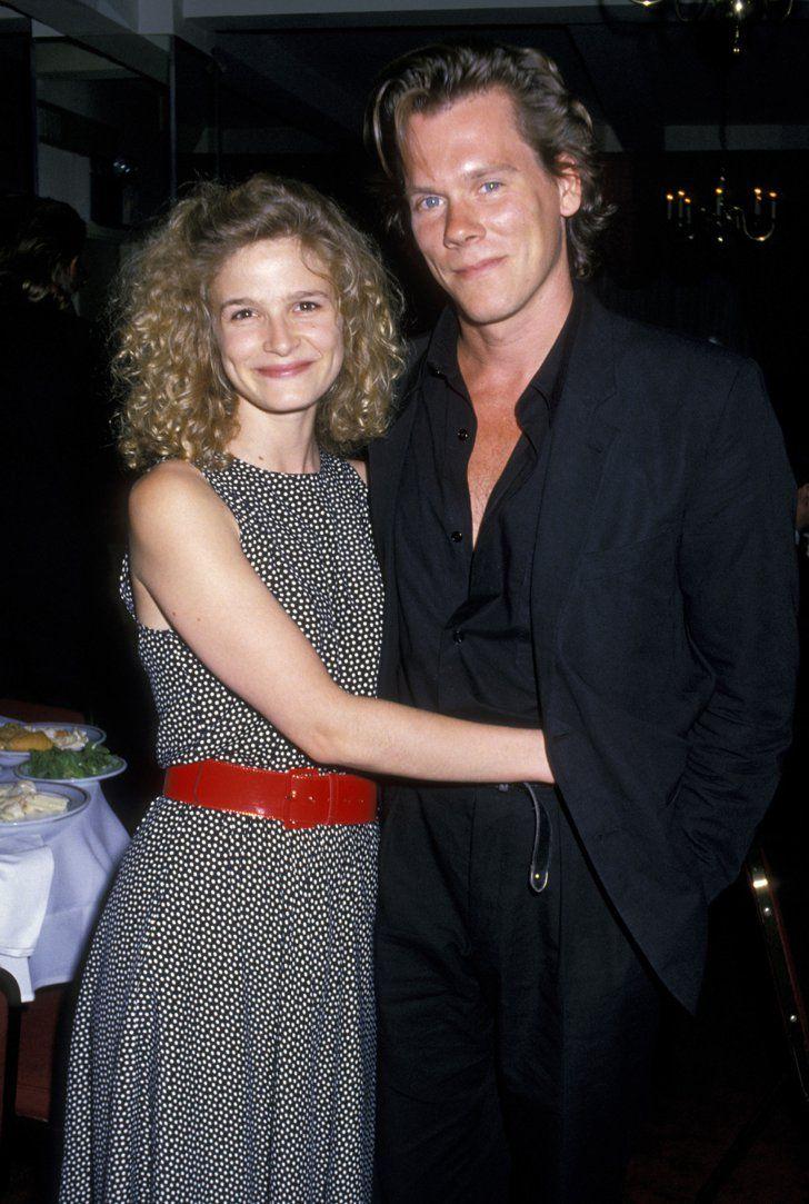 Pin for Later: Retour Sur la Fois où Ces Couples de Célébrités Se Sont Affichés en Public Pour la Première Fois Kyra Sedgwick et Kevin Bacon en 1988