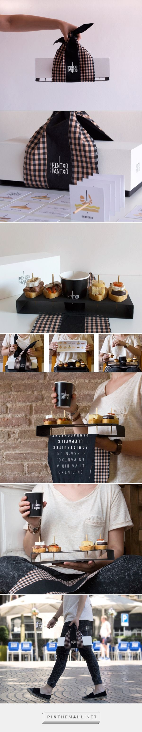 PINTXO PANTXO on Behance curated by Packaging Diva PD. Love this takeaway packaging branding. Be sure and look at the details.