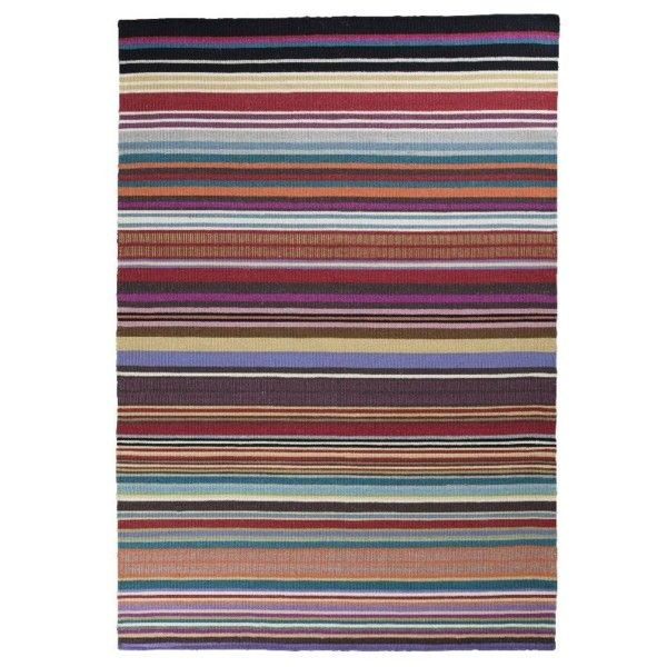 Wełniany dywan Feel Red, 70x140 cm | Bonami