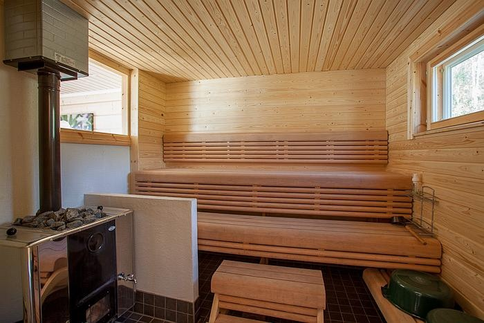 Sauna at Eerikki holiday house, Aurinkoranta