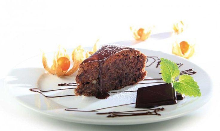 Sunn oppskrift på sukkerfri sjokoladekake uten mel og melk
