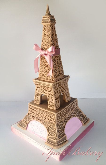 Eiffel Tower Cake Paris Party Theme Pinterest Eiffel