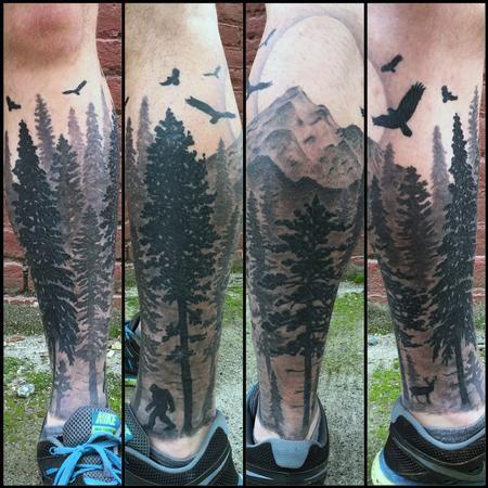 Nic LeBrun - Pacific Northwest Tattoo
