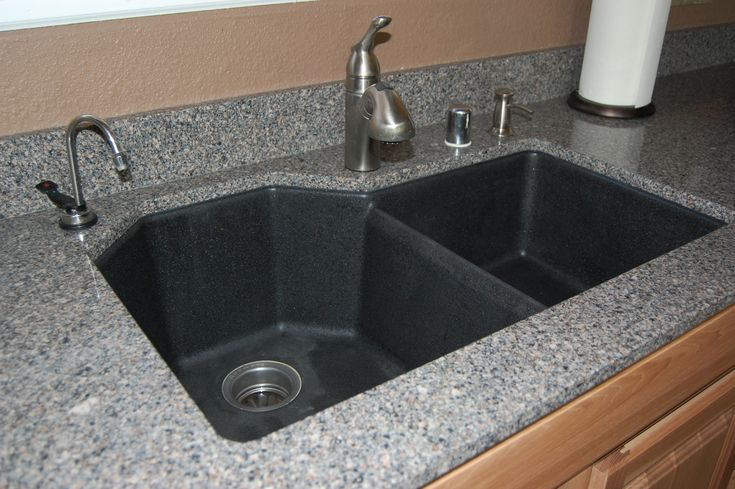 Silestone sinks undermount granite sink with instant hot for Silestone kitchen sinks