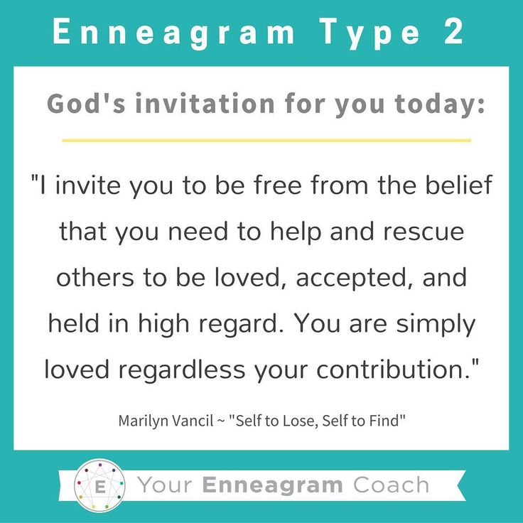 "Enneagram #Type2 this is the gospel message for your heart today! Each personality has particular thoughts and feelings that hinder what the liberating gospel message is saying to them. Read this TRUTH and allow it to sink deep into your soul. Ask the Holy Spirit to enable you to hear this message every day and expand your ability to embrace His truth and love for you because of what Christ has done for you and in you. Thanks to Marilyn Vancil and her book,""Self to Lose, Self to Find""…"
