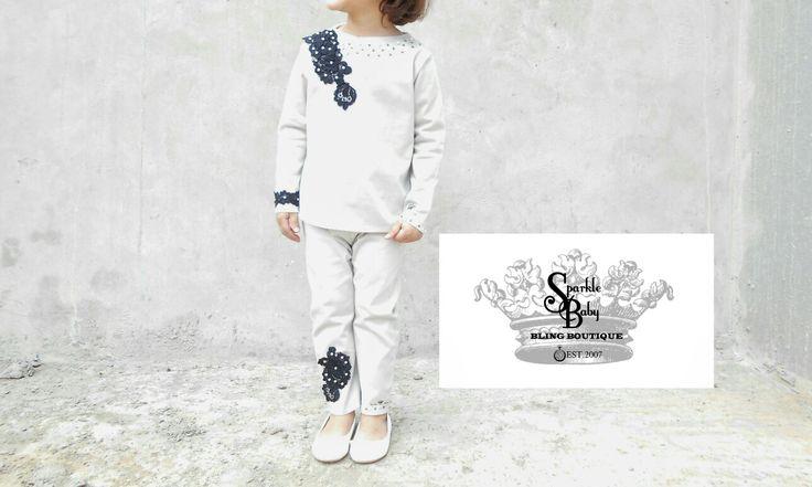 """'Elegant Tailored Junior Lace Suit"""""""