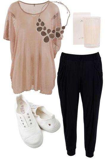 Lazy Wednesday's Outfit includes Vigorella, Walnut, and Zatini at Birdsnest Fashion