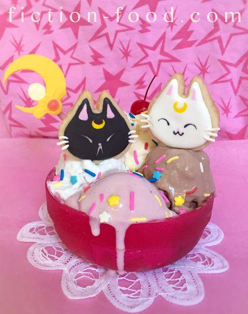 "Food Adventures (in fiction!): ""Moonie Sundae"" for ""Sailor Moon""!"