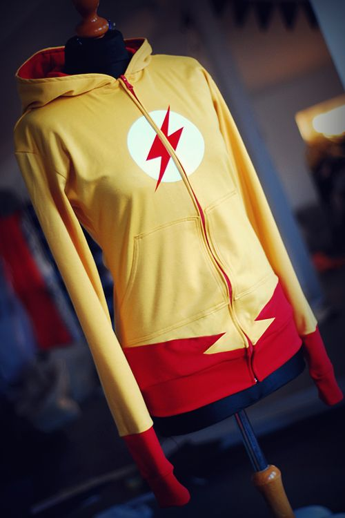 Custom Made DC Comics Superhero Hoodies — GeekTyrant kid flash