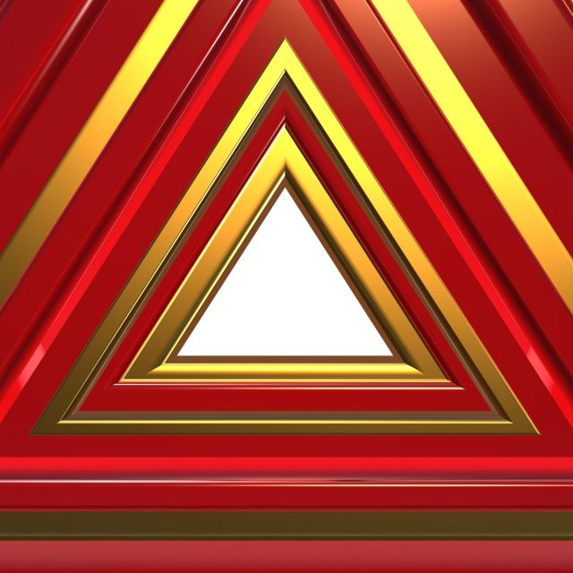3d Triangle Hole 3d Gradient Gradasi Png Transparent Clipart