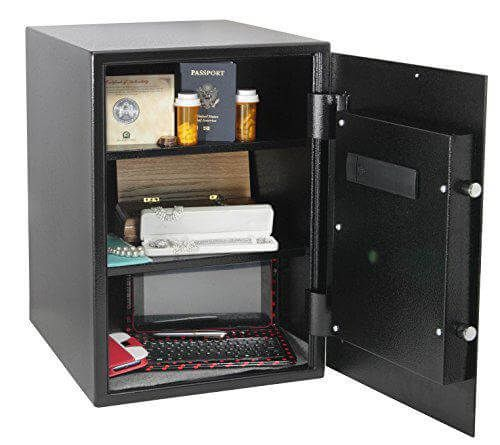 Honeywell 5207 Digital-Dial Steel Security Safe, 2.7 Cubic Feet Inside View