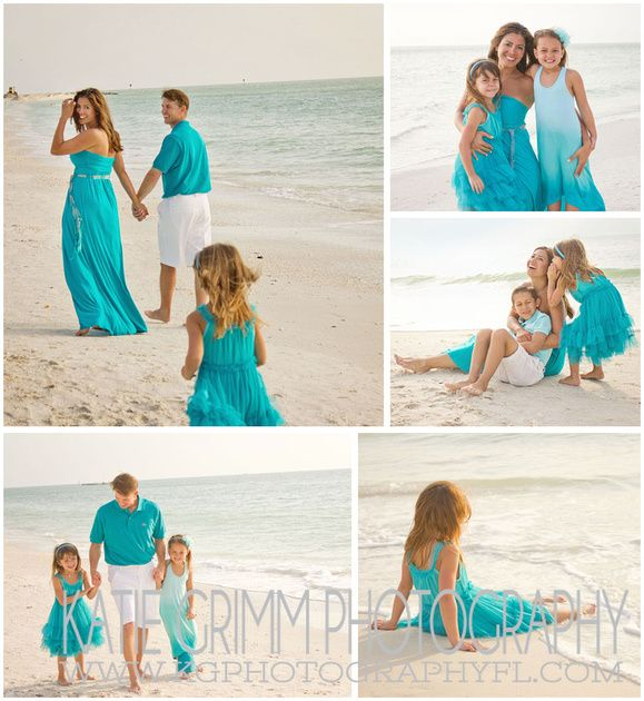 family beach picture outfit ideas   ... Contemporary Wedding Photography}   Marco Island Family Beach Session