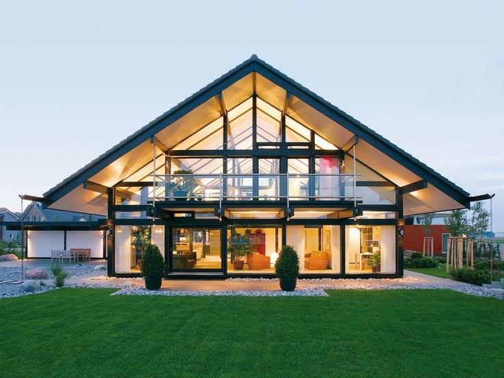 HUF Haus ART 5 - Transparenz aus Holz und Glas
