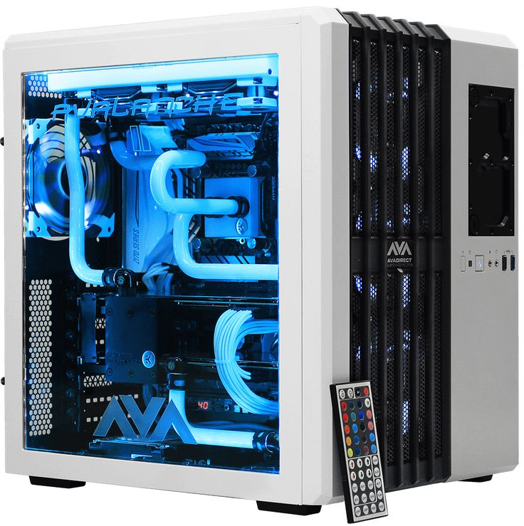 Avalanche 2 hardline liquid cooled Custom Gaming PC gives you a chilling gaming experience.