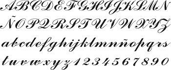 Resultado de imagen para letra c cursiva elegante