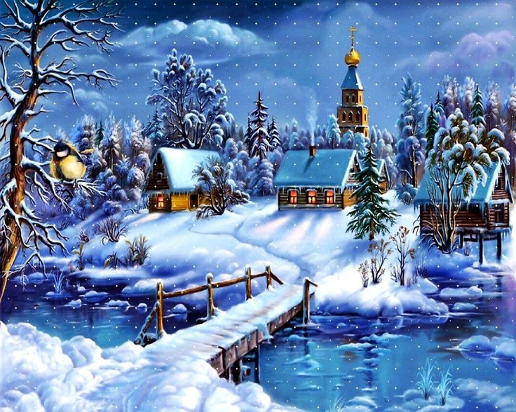 Classic Christmas Motion Background Animation Perfecty: Free Animated Winter Desktop Wallpaper