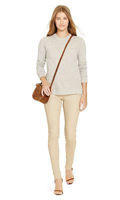 Cashmere Crewneck Sweater - Polo Ralph Lauren Shop All - Ralph Lauren UK