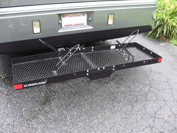 Bike Rack Adapter for Stromberg Carlson Hitch Mounted Cargo Carrier Stromberg Carlson Accessories and Parts CC-125