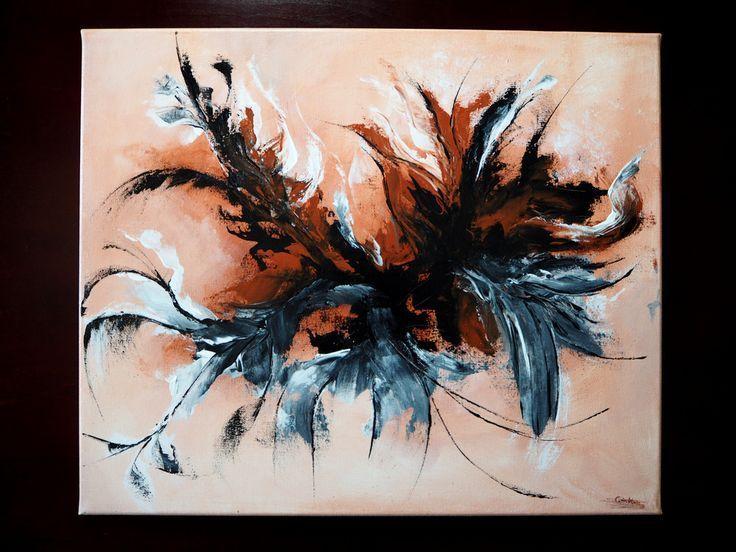 abstraktes bild modern kunst bilder leinwand moderne abstrakte ebay gemälde acrylbilder malen